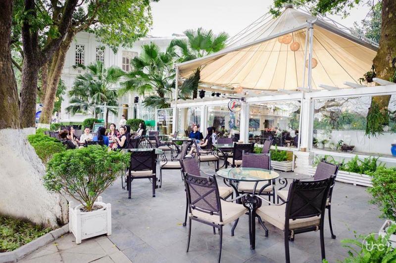 quán Café View Hồ Gươm